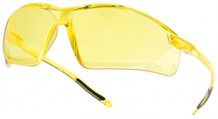 Lunette protection jaune