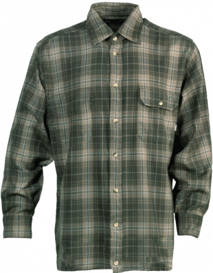 Chemise manches longues otto vert