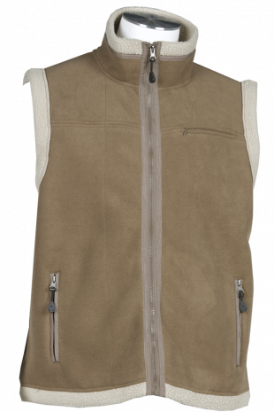 Gilet polaire Chicago beige