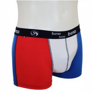 Boxer  homme - tricolore bbr - taille L