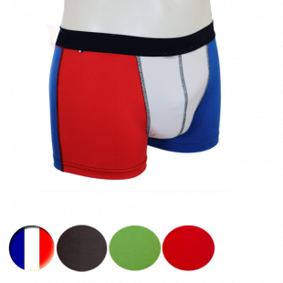 Boxer  homme - tricolore bbr